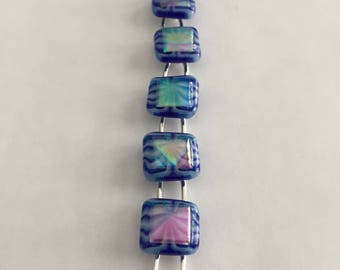 Bracelet - Fused Dichroic Glass