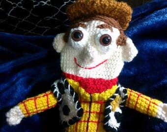 Crochet Sheriff Woody golf club cover