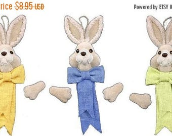 SUPPLY SALE 19 Inch Tall Bunny Deco Kit HE710799, Easter Decor