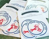 Tricycle Sticker Labels trike party trike stickers tricycle sticker trike birthday