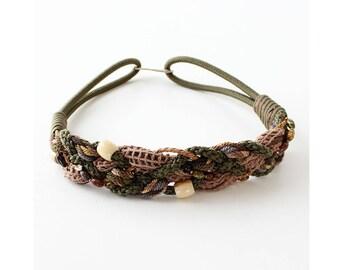 Braided Belt • 80s Belt • Statement Belt • Crochet Belt • Woven Belt • Cinch Belt • Boho Belt • High Waisted Belt   BT354