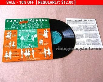 August Vinyl Blow Out 10% Off Already Low Prices FAMILY SQUARES  Private LP  Vinyl  Record Square Dance Album Exc Nm Instruction