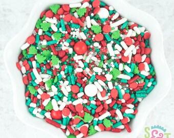Sweet Sprinkles Mix - Sleigh Bells - 4oz Bag
