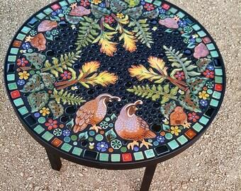Mosaic Coffee Table   Etsy
