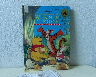 Disney Book: The Many Adventures of Winnie the Pooh, Glossy Hardcover, 1997. Excellent Condition.