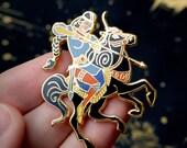 The Amazon Warrior Pin