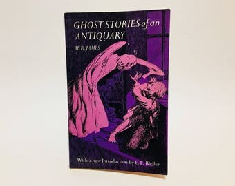 Vintage Horror Book Ghost Stories of an Antiquary by M. R. James 1971 Softcover Anthology