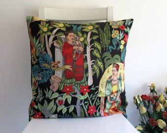 Frida's Garden 18 x 18 Cushion cover