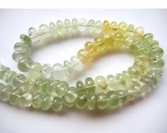 ON SALE 55% Prehnite Beads, Prehnite Rondelles, Rondelle Beads, 9mm To 10mm Each, 38 Pieces Approx, 9 Inch Half Strand