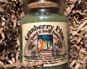Cranberry Pine Hand & Body Emulsified Sugar Scrub, 6 oz