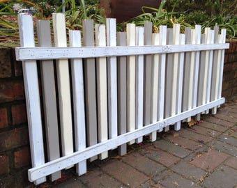 Headboard Beach Fence TWIN Size Beach House Coastal Furniture Decor by CastawaysHall