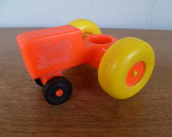 Fisher Price Little People Tractor Vintage