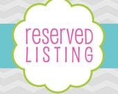 Reserved listing Cop
