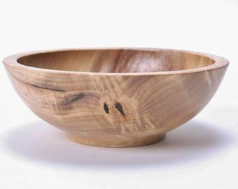 "Birdseye Myrtle Wooden Bowl #1682  6"" X 2 1/8""  wooden bowls, wood bowls, ring bowl, bowl for keys, birdseye bowl, bowl, hand turned bowls"