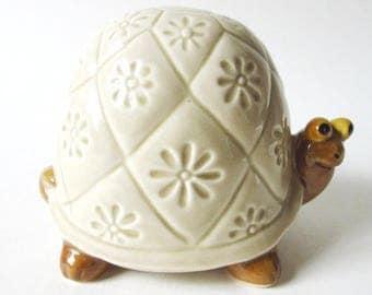 Ceramic Turtle Bank, Vintage Otagiri OMC Japan