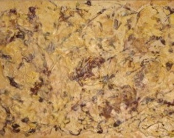 """This painting is titled """"Noise"""". Acrylic on canvas."""