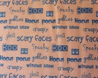 Sandy Gervais Seasonal Halloween Words Orange - 17931 22