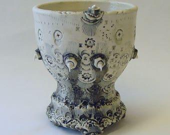 Industrial Wedding Cake Wine Cup