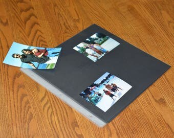 Black Backed Album - Scrapbook Refill Pages