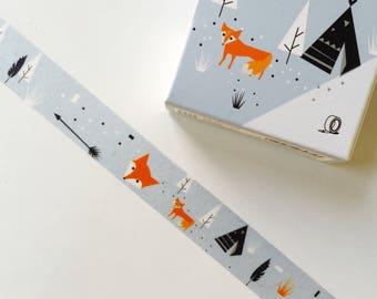 Washi Masking Tape Northern Europe Scandinavian Fox