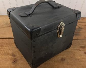 Vintage WWII Grimes Signal Light Model K3 Case with 3 Original Lenses (No Light)
