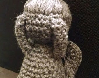 Weeping Angel Amigurumi