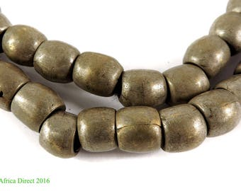 Ethiopian Trade Beads Silver Old Africa 109463
