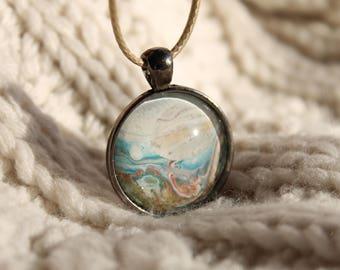 Seashell Wishes - Journey Pendant Necklace