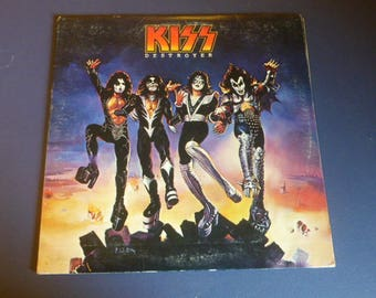 KISS Destroyer Vinyl Record LP NBLP 7025 Casblanca Records 1976