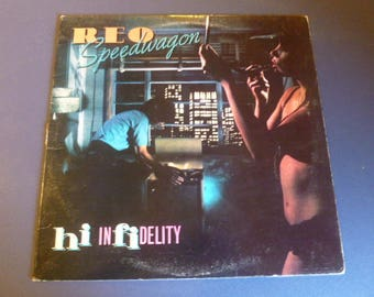 REO Speedwagon Hi Infidelity Vinyl Record LP FE 36844 Epic Records 1980