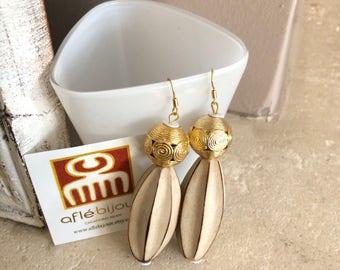 Aflé Bijoux Wood Earrings