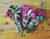 Smudge stick Cedro, Rosa e Salvia -  kit di 3