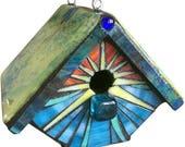 Mosaic Rainbow Wren House