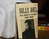 J Billy Joel - We Didn't Start the Fire Cassette Single CBS 1989