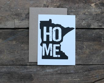 Minnesota Home State Thank You Greeting Cards with Envelopes / Wedding / Shower / Engagement / Set of 10