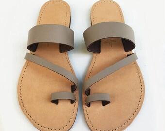 The Zelda Dark beige Sandal