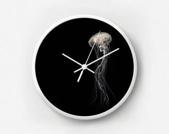 Medusa III Jellyfish Wall Clock