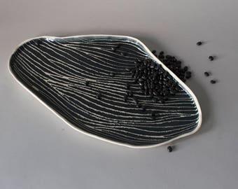 Plat Porcelaine ELEMENT