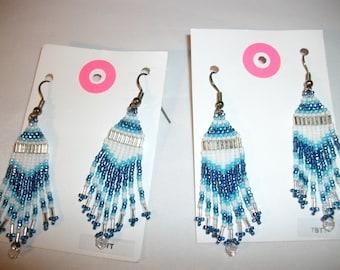 Frosty Blue Earrings O