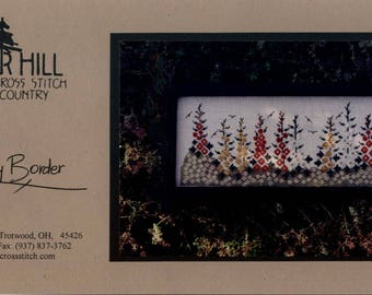 Cedar Hill: Country Border (OOP) - Cross Stitch Pattern