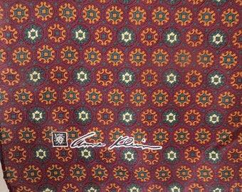 "Small Pocket Purse Scarf Anne Klein  14"" X 14""  #102"