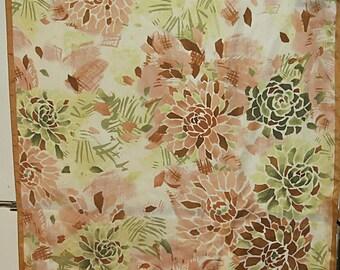 """Large Anne Klein  Vintage Silk Scarf   27"""" X 27""""  #200"""