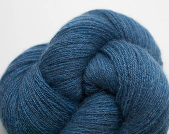 Marine Blue Recycled Cashmere Lace Weight Yarn, CSH00284