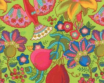 11450-15 Malabar Green, Trade Winds by Lily Ashbury for Moda