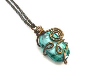 Atlante necklace : mermaid