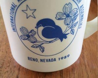 Coffee Cup, from the International Association of Rebekah Assenblies, Reno, Nevada, 1989