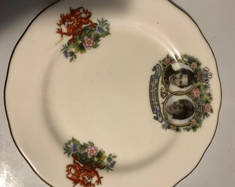 Queen Anne China Prince Charles and Diana Wedding Plate