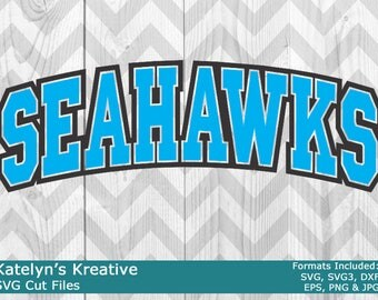 Seahawks Arched SVG Files