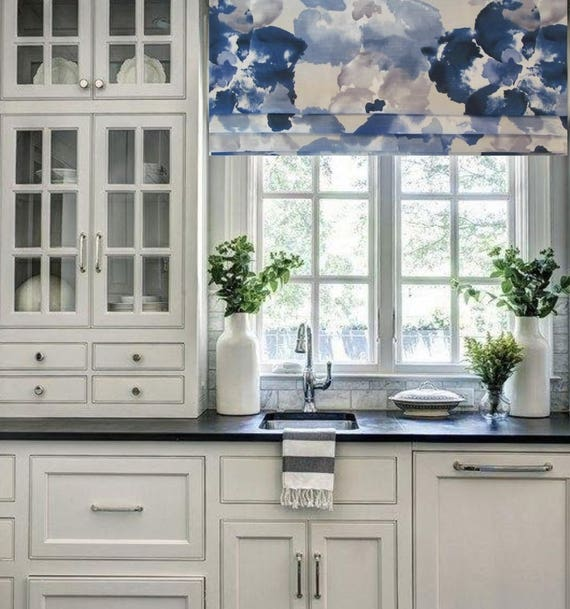 Curtains For Kitchen Window Over Sink Google Search: Faux Roman Shade Lined Mock Valance Robert Allen Home