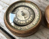 Antique Sundial and Compass